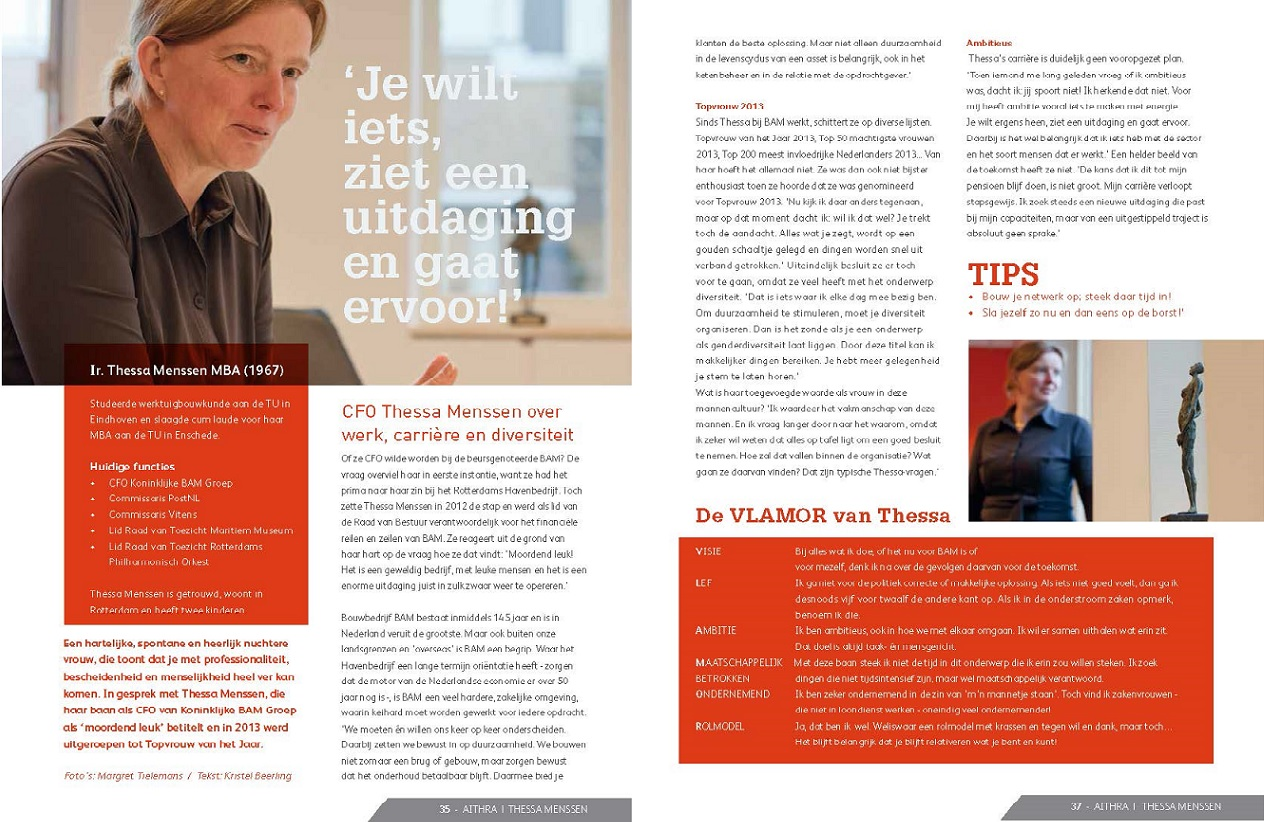 Interview – Thessa Menssen (CFO Koninklijke BAM Groep)