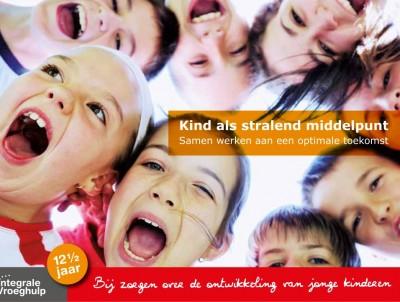 Foldertekst 'Kind als stralend middelpunt' – Integrale Vroeghulp
