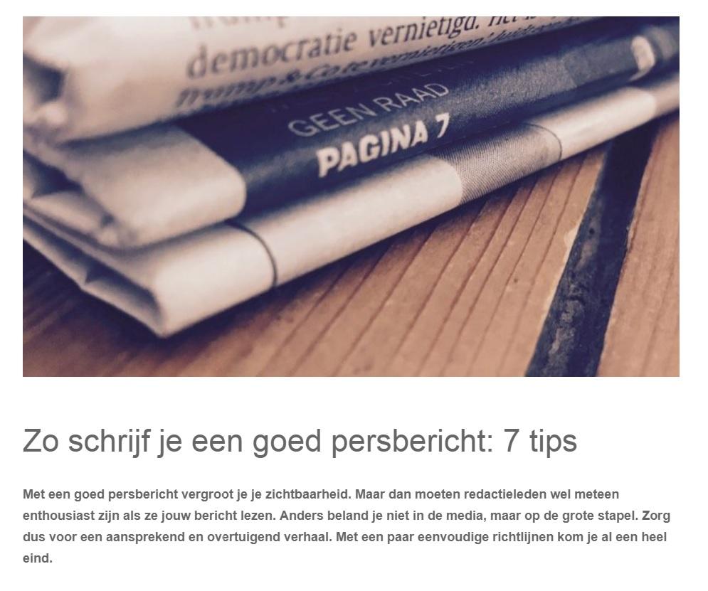 Blogs – Tekst2