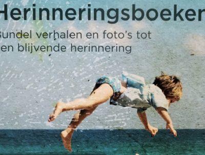 Poster – Voortleven herinneringsboeken