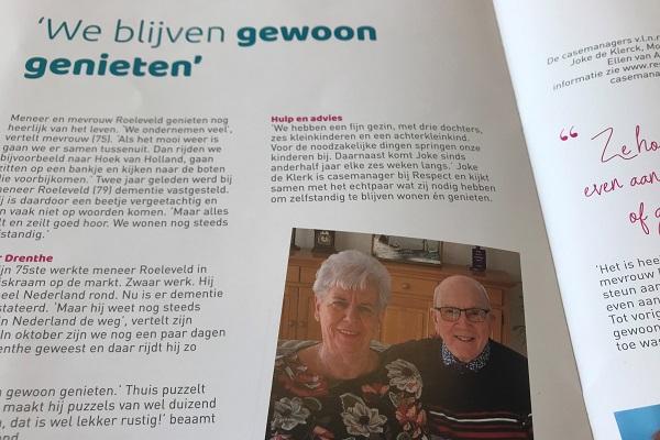 Respect Magazine - zorg voor ouderen